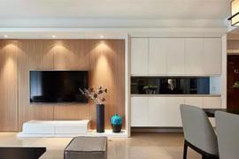 【无锡装修公司】客厅隐形门的5种设计