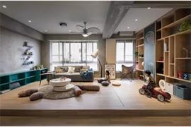 现代简约风格客厅的多功能设计