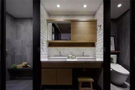 「卫浴设计」卫生间干湿分离的几款设计