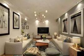 「家装设计」客厅墙壁色彩选择