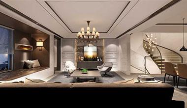 城中墅现代风格案例效果图