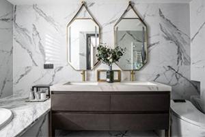 卫生间的瓷砖铺贴法