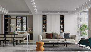 吉宝季景名邸现代风格案例效果图