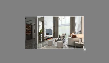 琅石名筑170平新中式风格全案装修设计