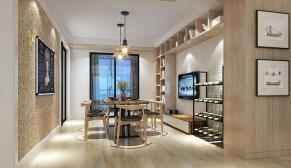 无锡保利香槟150平现代简约风格装修效果图