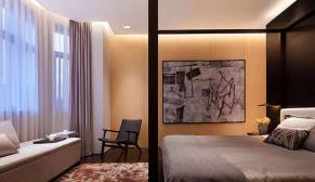 无锡弘阳三万顷460平别墅新中式风格装修效果图