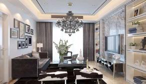 无锡蔚蓝观邸170平现代简约风格装修效果图