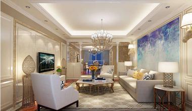 无锡长泰国际200平美式风格装修效果图