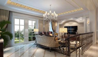 无锡弘阳三万顷500平别墅欧式古典风格装修效果图