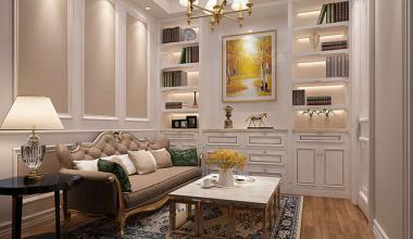 无锡上由珑庭400平欧式古典风格装修效果图